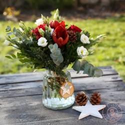 Bouquet rond Rosae