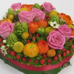 bouquet soleil la ronde des fleurs